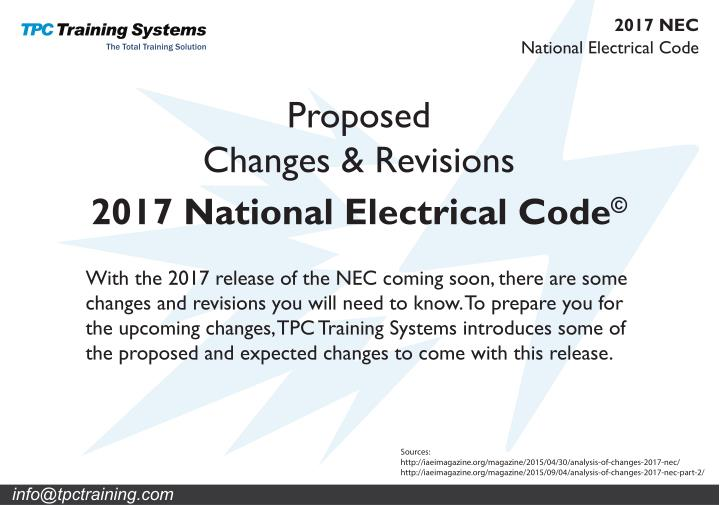 PPT - 2017 Changes to the NEC Code PowerPoint Presentation - ID:7367826