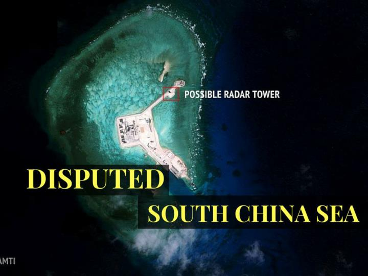 debated south china sea n.