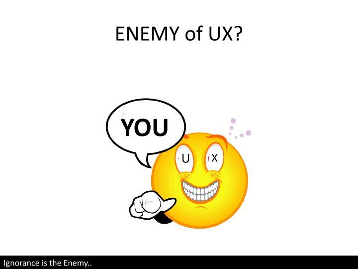 ENEMY of U