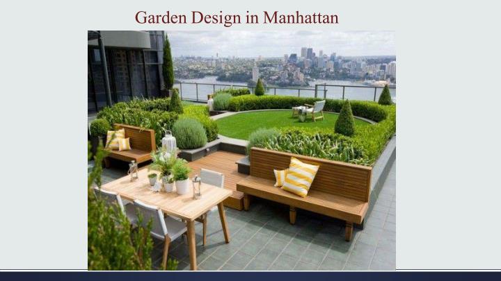 Garden Design in Manhattan