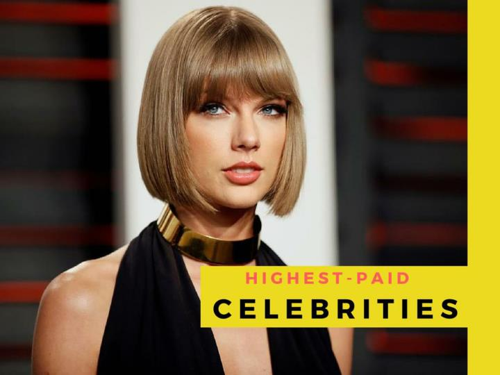most generously compensated celebrities n.