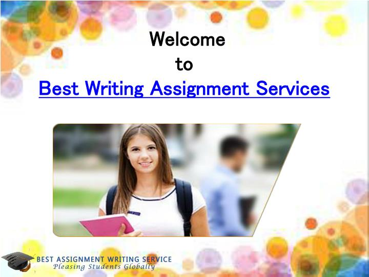 Welcome to best writing assignment services