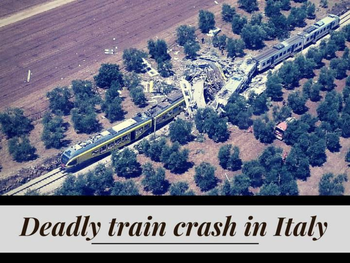lethal train crash in italy n.