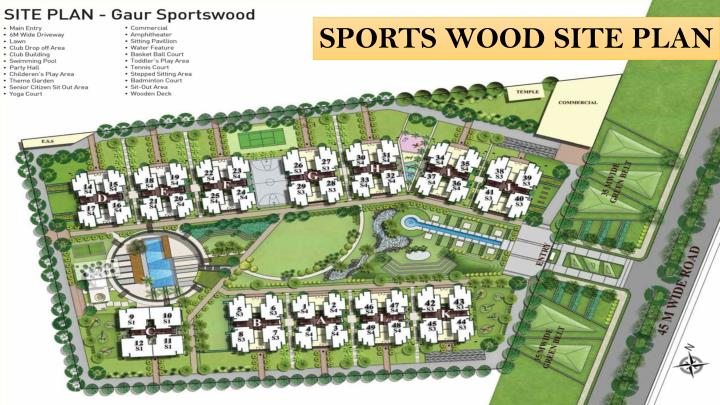SPORTS WOOD SITE PLAN