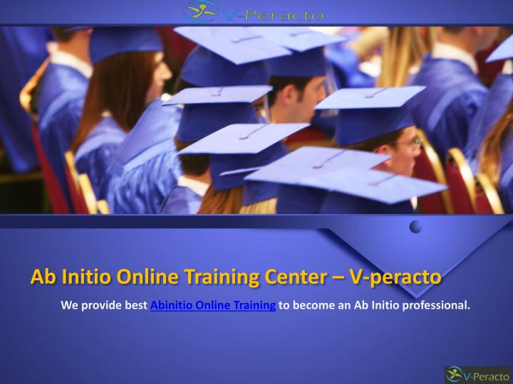 ab initio online training center v peracto n.