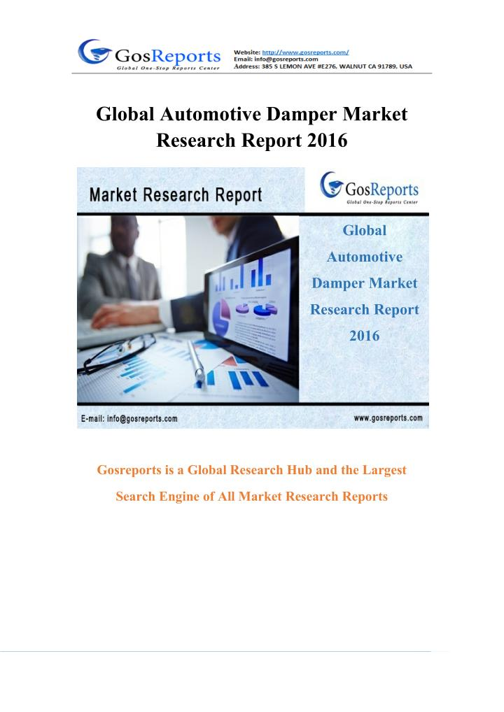 Global Automotive Damper Market