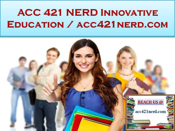 acc 421 wa3 Here is the best resource for homework help with acc 421 : accounting at university of phoenix find acc421 study guides, notes, and practice tests from.