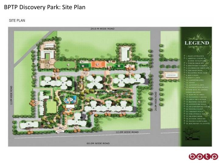 BPTP Discovery Park: Site Plan