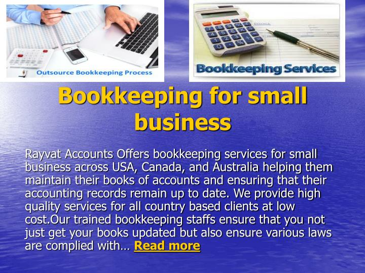 bookkeeping for small business n.