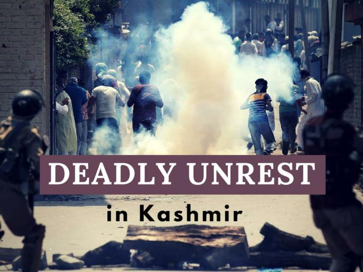 savage turmoil in kashmir n.