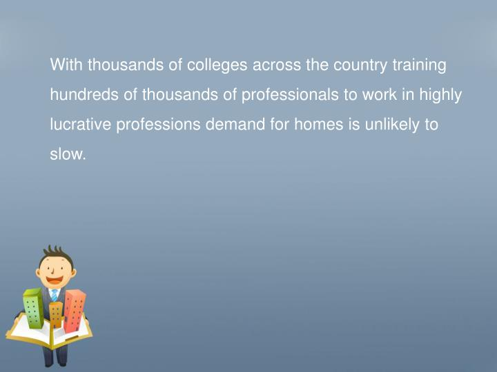 With thousands of colleges across the country training