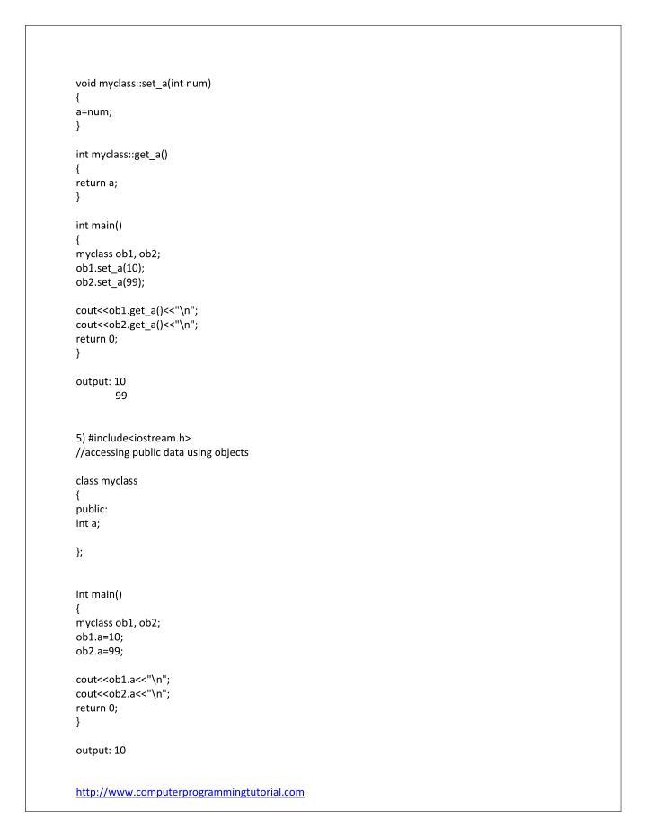 void myclass::set_a(int num)