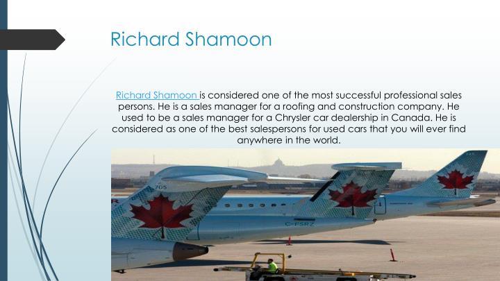 Richard shamoon1