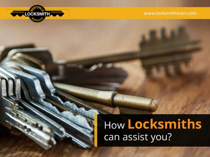 how locksmiths can assist you n.
