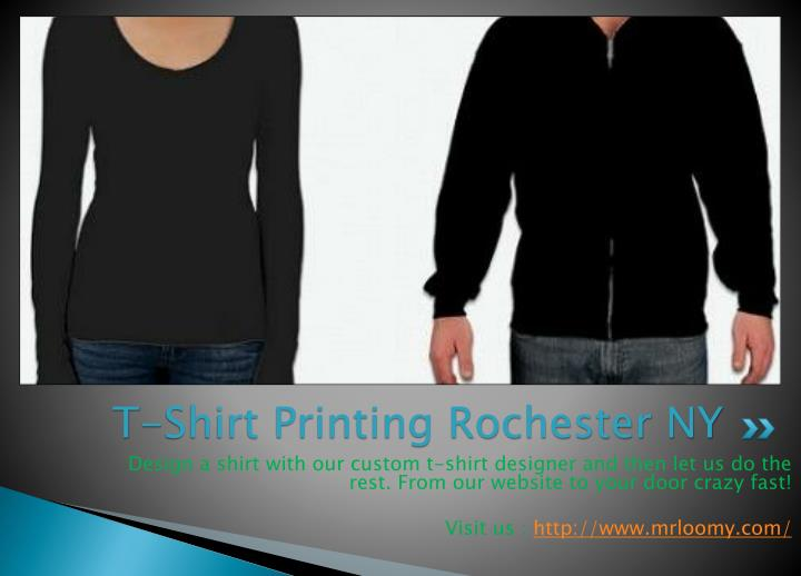 Ppt t shirt printing rochester ny powerpoint for T shirt printing in rochester ny