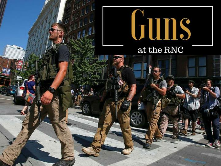 firearms at the rnc n.