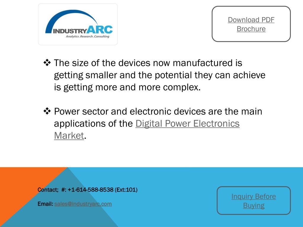 PPT - Digital Power Electronics Market: high scope of