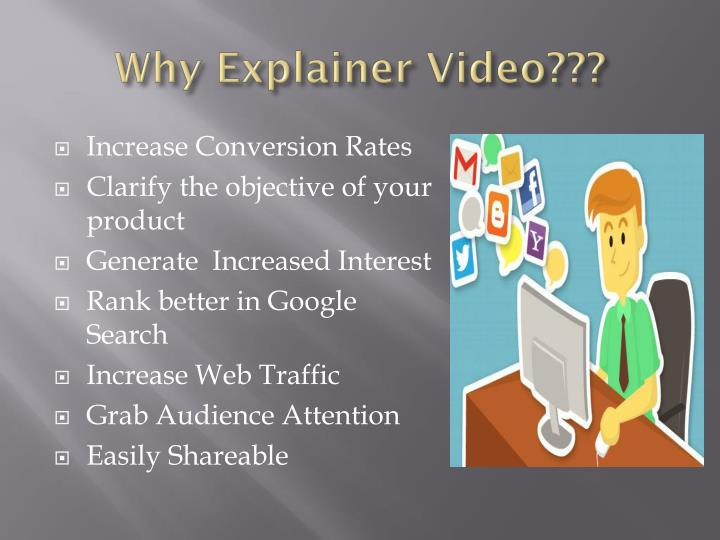 Why Explainer Video???