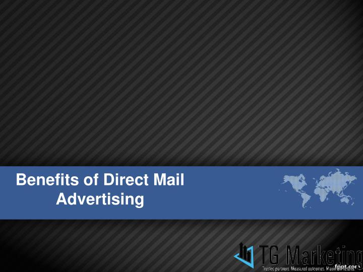 benefits of direct mail advertising n.