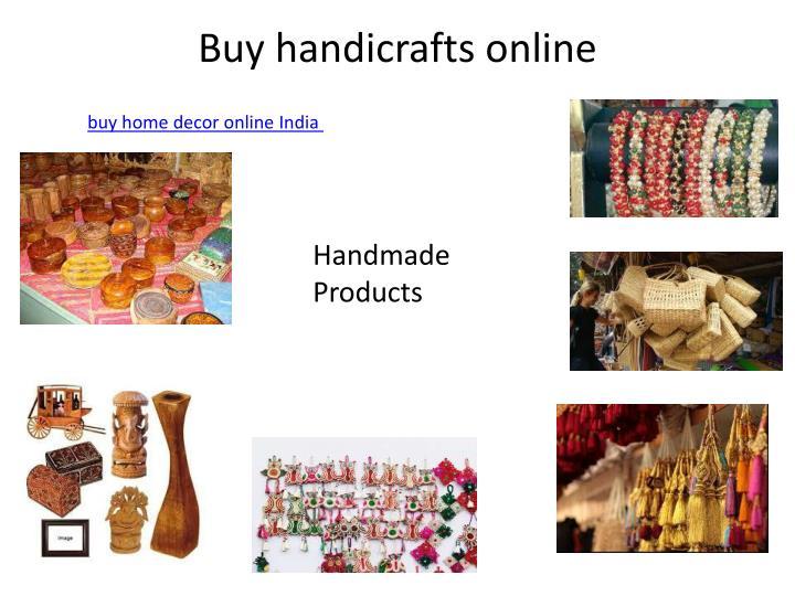Buy handicrafts online1