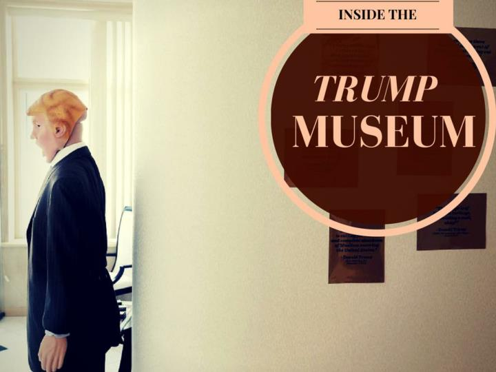 inside the trump museum n.