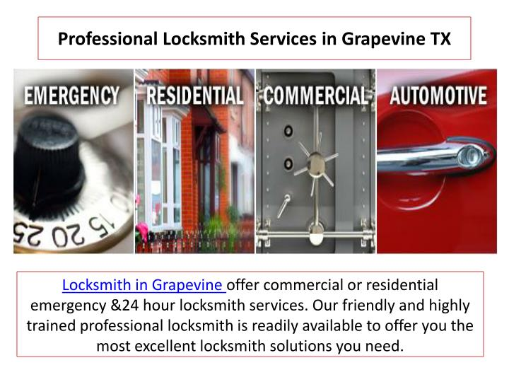 professional locksmith services in grapevine tx n.