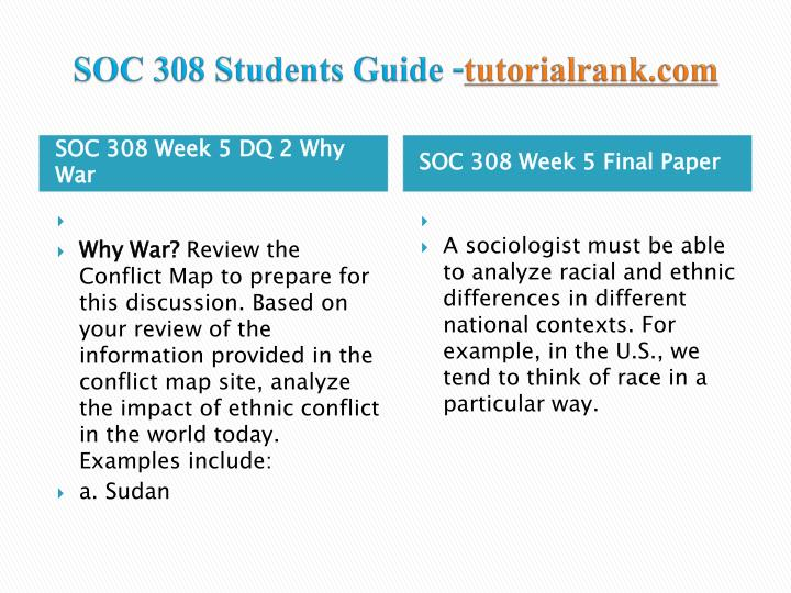 analyzing racial conflict