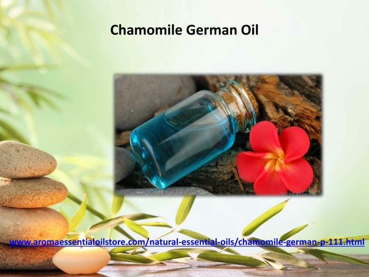 Chamomile German Oil