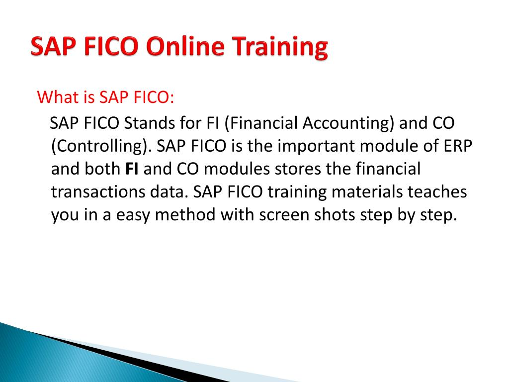 PPT - SAP FICO Online Training in USA | SAP FICO Online
