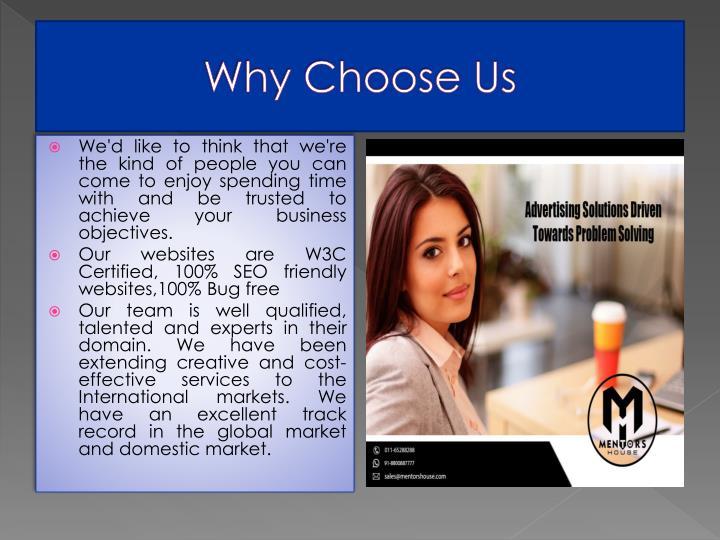 Why Choose Us