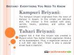 briyani everything you need to know10