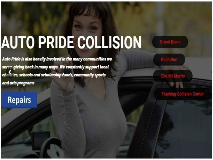 Auto repair shop in flint auto pride collision
