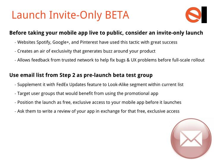 Launch Invite-Only BETA