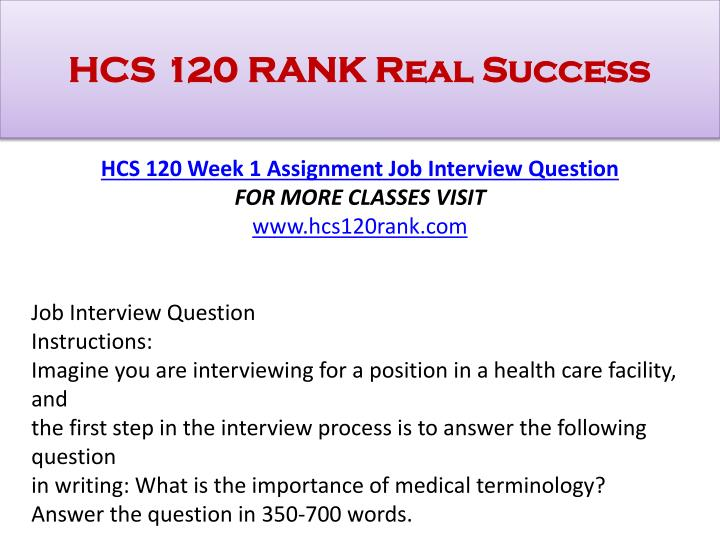 Hcs 350 personal and professional health care