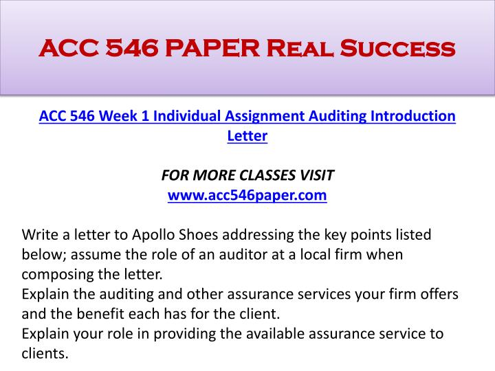 apollo shoes audit program design part ii Read this essay on acc/546 auditing  assignment audit program design part ii  and wants to continue with the audit apollo shoes would like you to prepare a.
