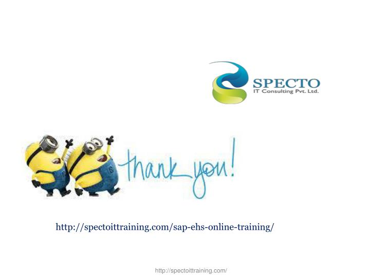 http://spectoittraining.com/sap-ehs-online-training/