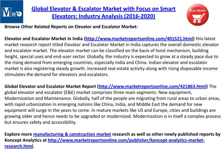 "elevator and escalator market in saudi ""saudi arabia elevator & escalator market (2016–2022)""report estimates and forecast overall saudi arabia elevator & escalator market by revenue, by volume, by types, by services such as new installation, maintenance and modernization, by verticals, and by region such as southern region, western region, eastern region and central region the."