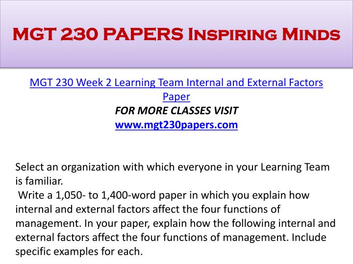 functions of management paper Four functions of management paper the discipline of management can be divided into four specific functions, which include planning, organizing, leading, and controlling each of these functions plays a crucial role in a manager's capability to support an organization's strategic objectives.
