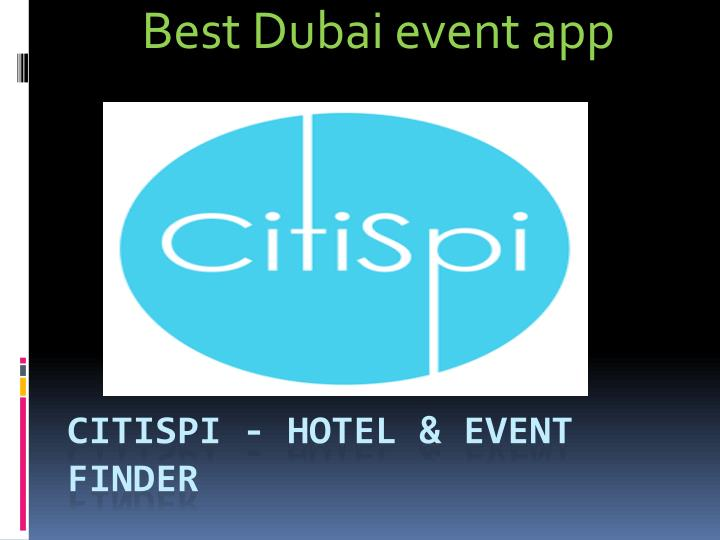 best dubai event app n.