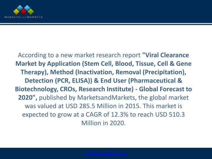 According to a new market research report