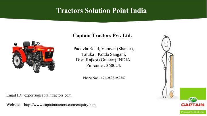 Tractors Solution Point India