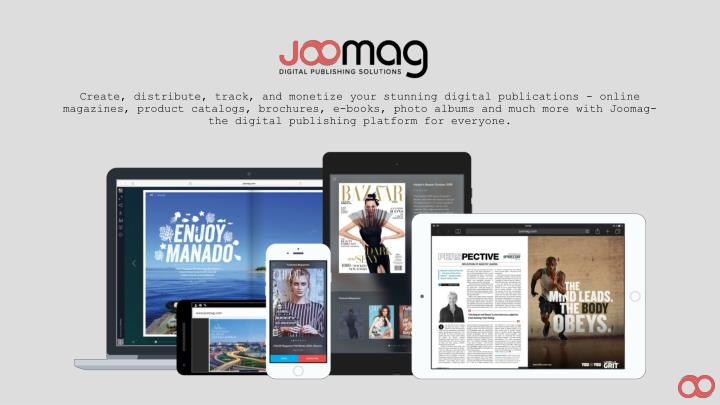 Create, distribute, track, and monetize your stunning digital publications - online magazines