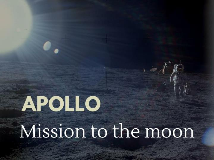 apollo mission to the moon n.