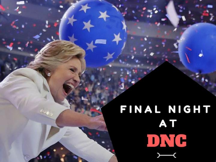last night at dnc n.