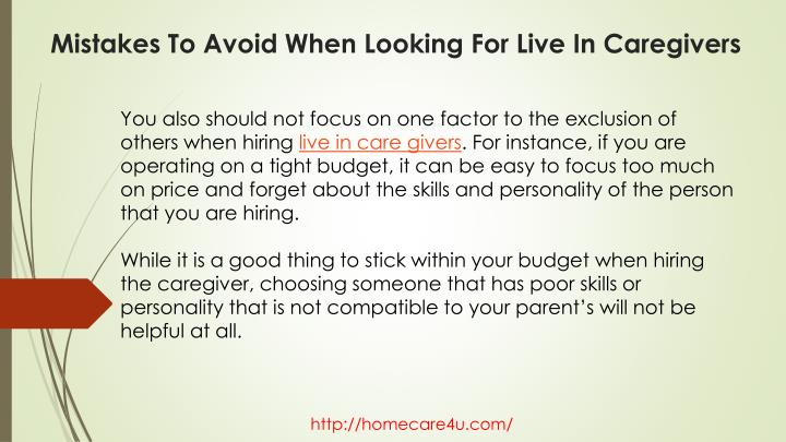 You also should not focus on one factor to the exclusion of others when hiring