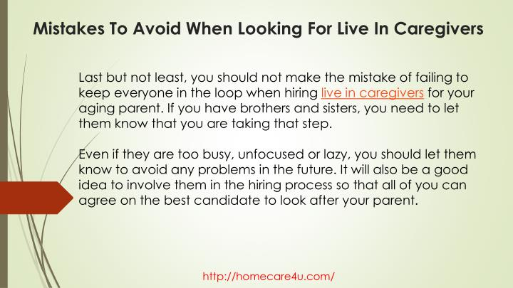 Last but not least, you should not make the mistake of failing to keep everyone in the loop when hiring