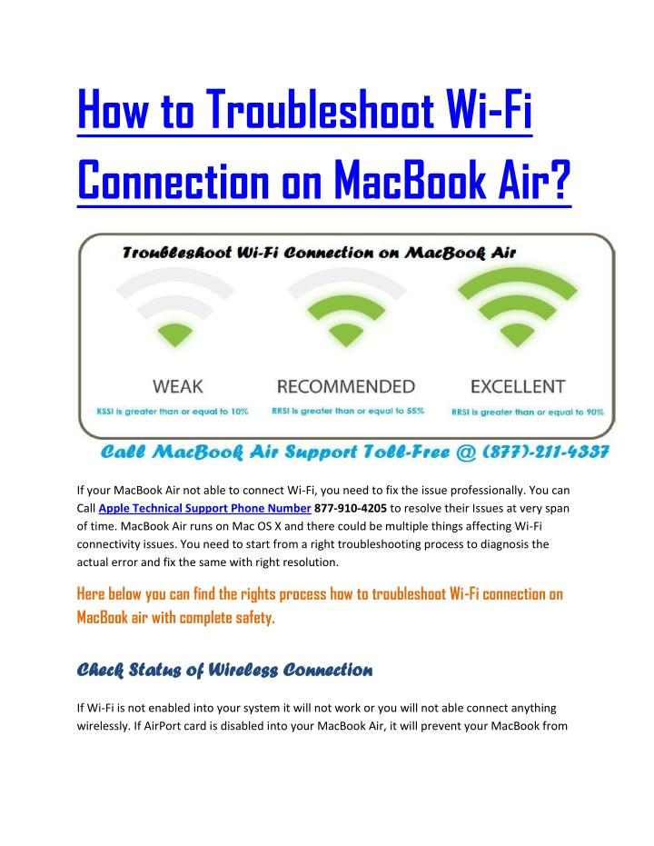 How to Troubleshoot Wi-Fi