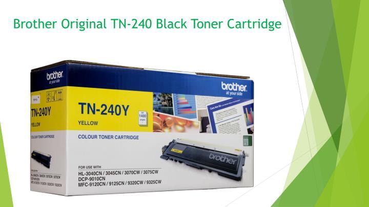 Brother Original TN-240 Black Toner Cartridge