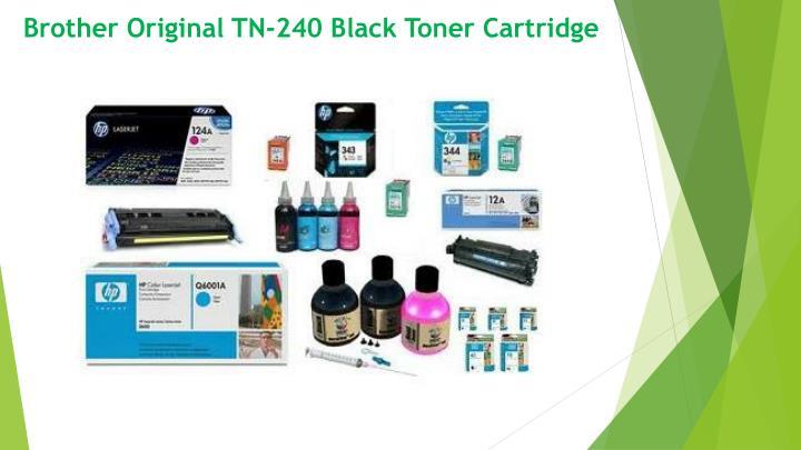 Brother Original TN-240 Black Toner