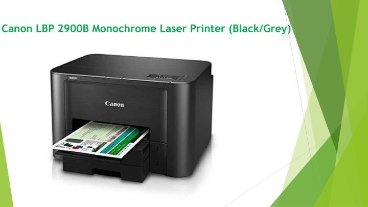 Canon LBP 2900B Monochrome Laser Printer (Black/Grey